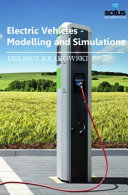 Electric Vehicles   Modelling and Simulations Book