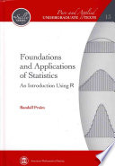 Foundations And Applications Of Statistics Book PDF