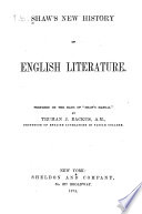 Shaw s New History of English Literature