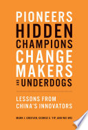 Pioneers  Hidden Champions  Changemakers  and Underdogs Book