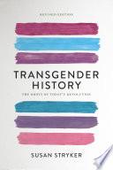 Transgender History Book