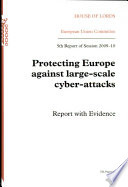Protecting Europe against large scale cyber attacks