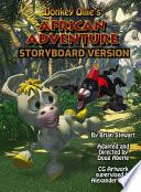 African Adventure  Donkey Ollie Comic Book Version
