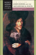 John Donne and the Metaphysical Poets