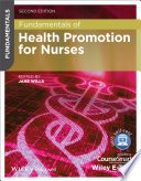 Fundamentals Of Health Promotion For Nurses Book PDF
