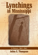 Lynchings in Mississippi
