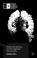 Thomas De Quincey and the Cognitive Unconscious Pdf/ePub eBook