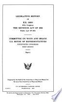 Legislative History of H.R. 8363, 88th Congress