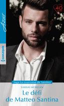 Le défi de Matteo Santina Book