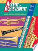 Accent on Achievement, Bk 3: Tuba