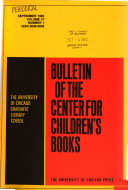 Bulletin of the Center for Children s Books