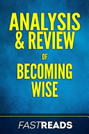 Analysis and Review of Becoming Wise Book PDF