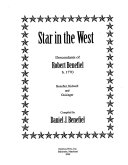 Star in the West Book