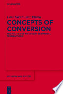 Concepts of Conversion