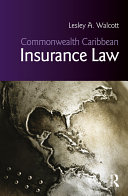 Commonwealth Caribbean Insurance Law