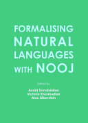 Formalising Natural Languages with NooJ