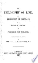 The Philosophy of Life  and Philosophy of Language