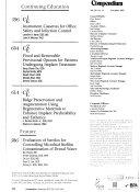 Compendium of Continuing Education in Dentistry