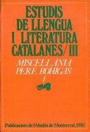 Miscel·lània Pere Bohigas