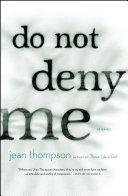 Do Not Deny Me [Pdf/ePub] eBook