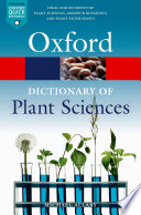 A Dictionary of Plant Sciences Book