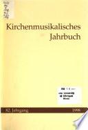 Kirchenmusikalisches Jahrbuch