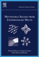 Metastable Solids from Undercooled Melts