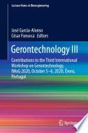 Gerontechnology III