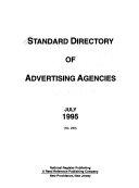 Standard Directory Of Advertising Agencies July 1995