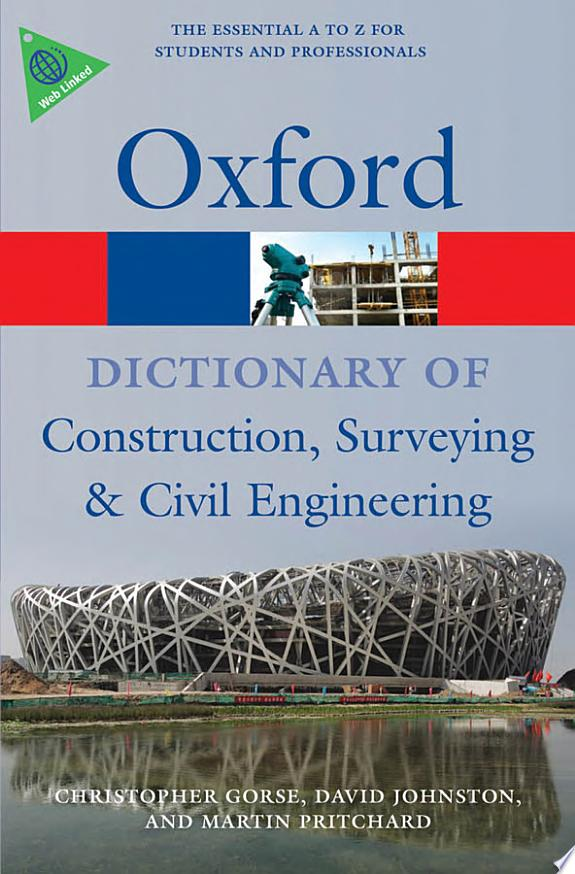 A Dictionary of Construction, Surve