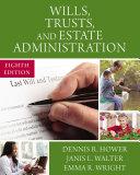 Wills, Trusts, and Estate Administration Pdf/ePub eBook