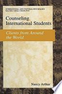 Counseling International Students Book PDF