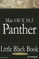 Mac OSX 10  3 Panther Little Black Book