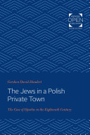 The Jews in a Polish Private Town