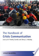 The Handbook Of Crisis Communication Book PDF