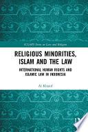Religious Minorities  Islam and the Law