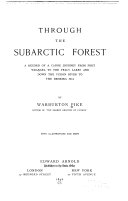Through the Subarctic Forest
