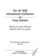 The 10th IEEE International Conference on Fuzzy Systems