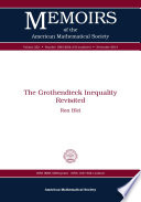 The Grothendieck Inequality Revisited Book