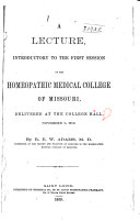 Pamphlets   Homoeopathic