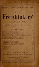 Free Thought Magazine