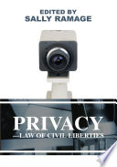 Privacy Law of Civil Liberties Book