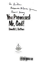 You Promised Me  God  Book