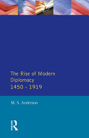 Pdf The Rise of Modern Diplomacy 1450 - 1919 Telecharger
