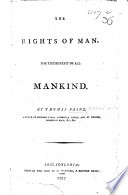 The Rights of Man  For the use and benefit of all mankind