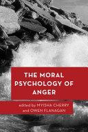 Moral Psychology of Anger