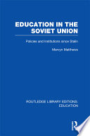 Education in the Soviet Union