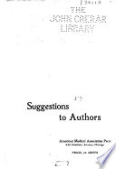 Suggestions to Authors