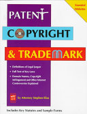 Patent  Copyright   Trademark