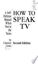 How to speak TV